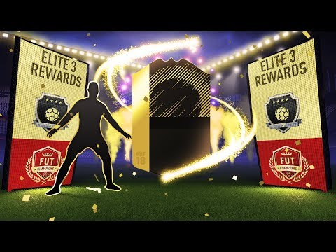 TOTGS 95 STRIKER RONALDO?! ELITE 3 FUT CHAMPIONS WEEKLY REWARDS - FIFA 18 ULTIMATE TEAM