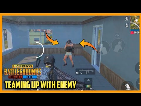 PUBG MOBILE LITE TEAMING UP WITH ENEMY || Emotional Ending😭