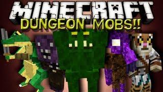Minecraft Mods - DUNGEON MOBS MOD!!!