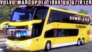 VOLVO Marcopolo 1800 DD G7 B12R 6×2 Download ETS 2 HD