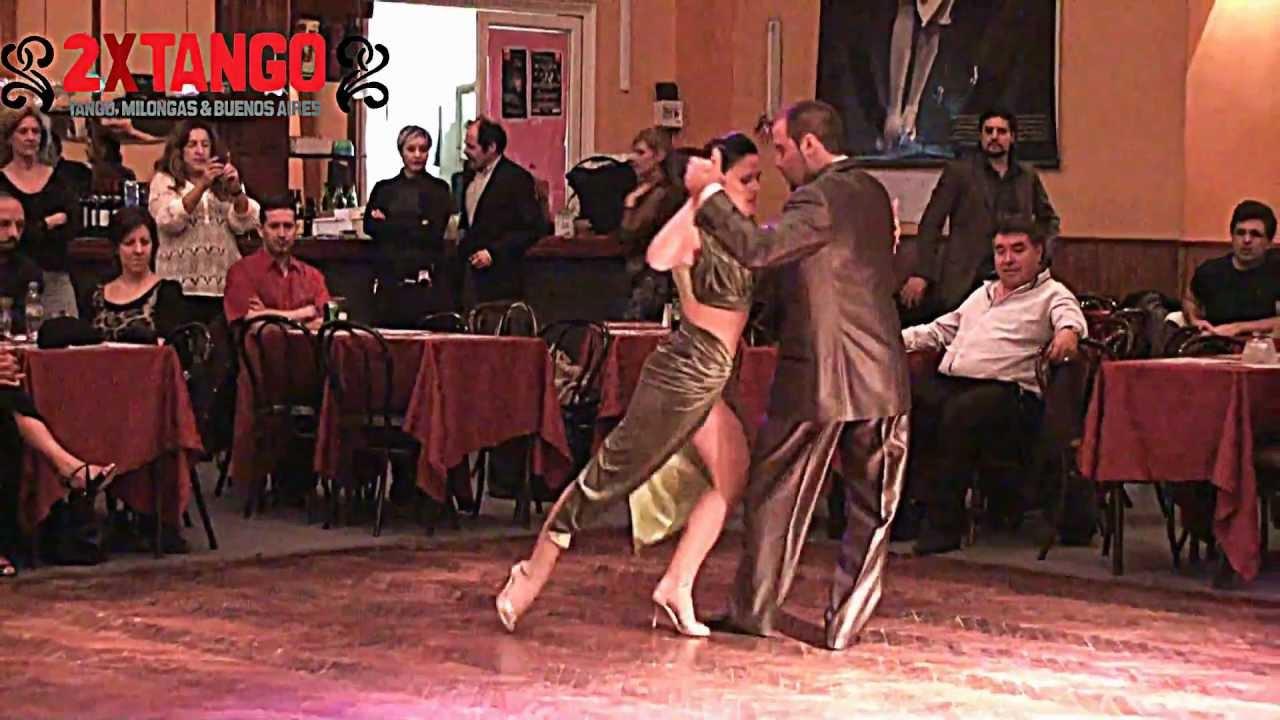 Daniel nacucchio cristina sosa tango dos fracasos en for A puro tango salon canning