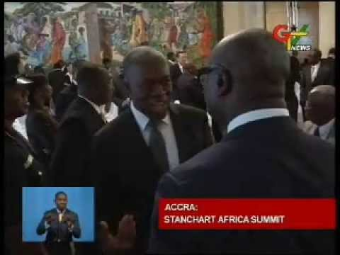 Vice President At Stanchart Africa Summit