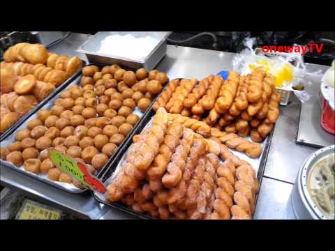 Korea Food : Go to traditional Korean market (재래시장 구경하기)
