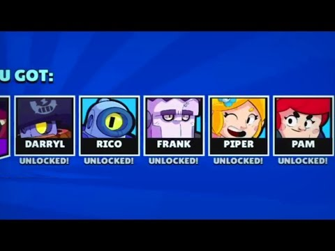5 BRAWLERS in 1 BOX! :: Funny moments, Fails & Wins