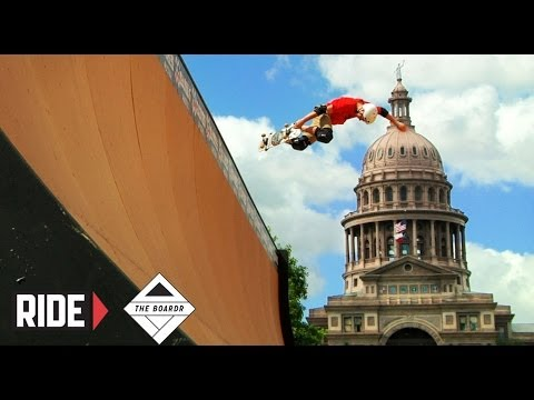 Tony Hawk Demo & Vert Contest - X Games 2014 Austin On The Boardr