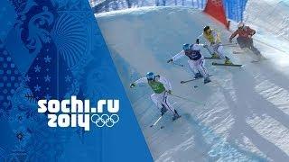 France Dominate The Men's Ski Cross Medals | Sochi 2014 Winter Olympics