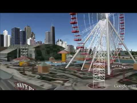 Turismo en Chicago / Tourism in Chicago [IGEO.TV]