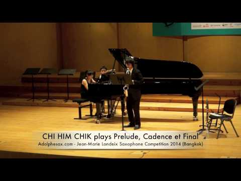 CHI HIM CHIK plays Prelude, Cadence et Final by Alfred Desenclos