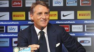 Live! Conferenza stampa Roberto Mancini prima di Lazio-Inter 9.5.2015 13:00CEST