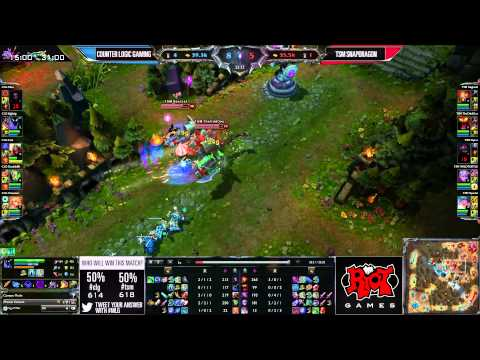 CLG (Counter Logic Gaming) vs TSM (Solomid) MLG Anaheim NA LCS Summer 2013 W3D3 || Full Game HD