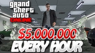 GTA 5 Online How To Make $5,000,000 + 1,000,000 RP Every