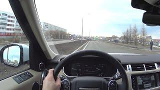 2017 Land Rover Range Rover Sport HSE  POV Test Drive. MegaRetr