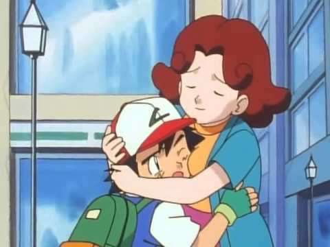 pokemon ash mom naked boob