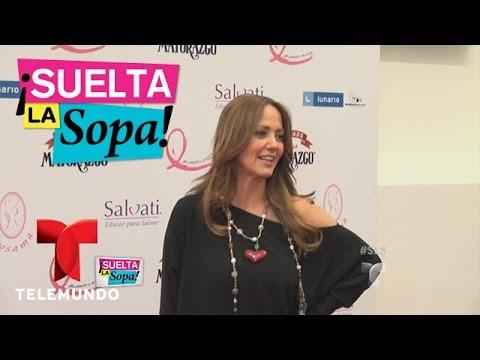 Suelta la Sopa | Andrea Legarreta habla sobre la salida de Carmen Aristegui de la radio | Telemundo