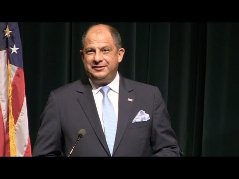 Remarks by the President of Costa Rica