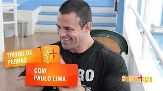 Treino de pernas com Paulo Lima