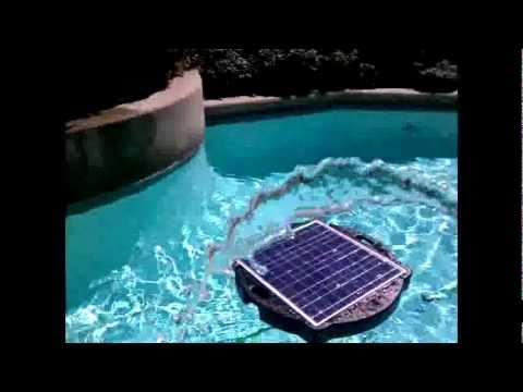 Pool Pump And Filter Solar System Savior Demonstration