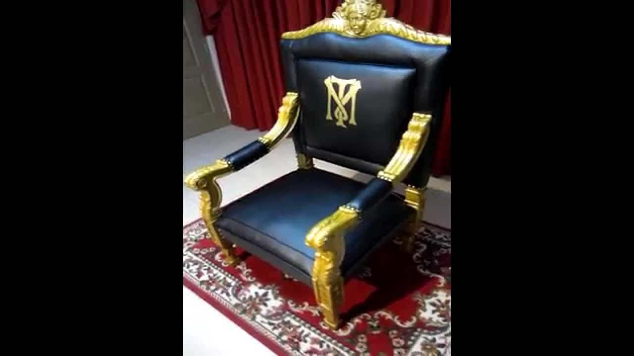 Scarface Replic Chair On Sale Youtube