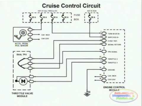 4 wire ac motor foot pedal wiring cruise control  amp     wiring    diagram youtube  cruise control  amp     wiring    diagram youtube