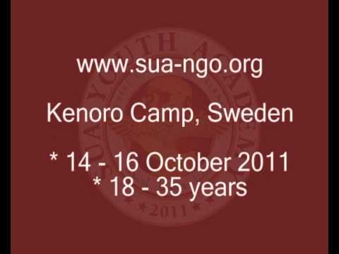 3rd SUA Youth Academy in Kenoro Camp, Sweden -- 14-16 October 2011 (Aramaic)