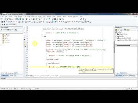 [M.I Tut] PHP & MySQLi Jednoduchá Registrácia