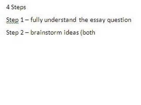 write argumentative essay step step