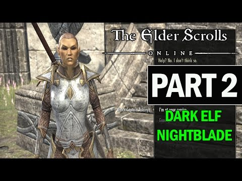 The Elder Scrolls Online PS4 Walkthrough Part 2 - Let's Play Gameplay Review