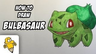 How To Draw Bulbasaur [Pokemon] Drawing Tutorial