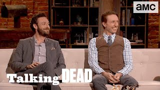 'Will Aaron Raise Baby Gracie?' Highlights Ep. 803 | Talking Dead