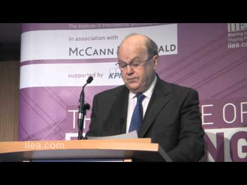 Towards the Banking Union - Minister Michael Noonan T.D. - Dublin, Dec 2013