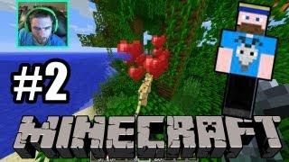 Minecraft Survival Challenge Day 2 - SPIDER BITE! AHHH