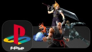 FPSE  Play Playstation games on your android mobile for free - Tekken 3 included