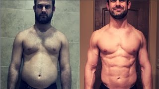 17.6 to 9.1% Body Fat TRANSFORMATION in 3 Months - All Natural - Victor McBride
