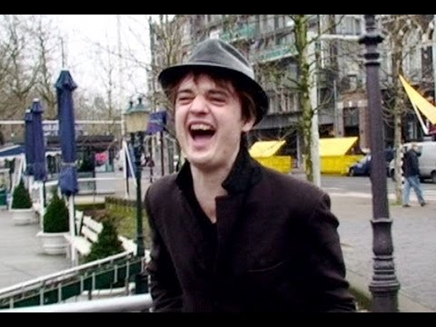 Pete Doherty in Amsterdam