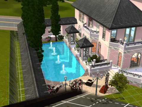 Sims 3 empire schloss youtube for Modernes waldhaus