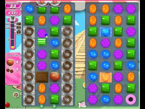 Strategy to pass Candy Crush Saga Level 331 - YouTube