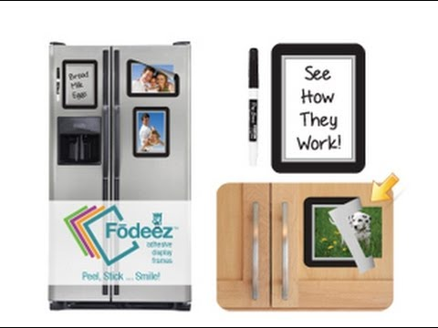Fodeez™ Peel and Stick Adhesive Display Frames