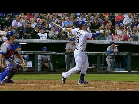 Arenado launches grand slam, extends hitting streak