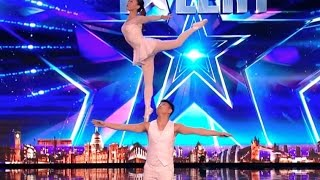 Gao Lin & Liu Xin STUNS Everyone With Their Acrobatics | Week 2 | Britain's Got Talent 2017