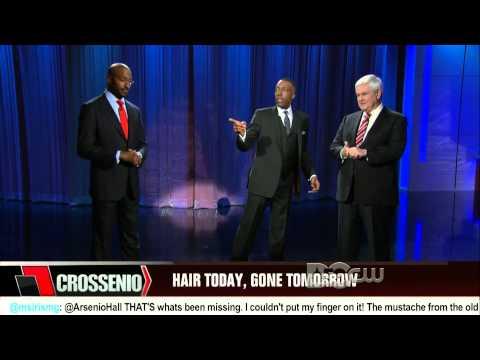 Arsenio Hall Show: Van Jones debates Newt Gingrich on #Goateegate