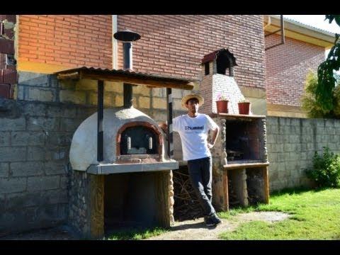 Construcci n horno de ladrillo y barro casero 100 wood for Construccion de chimeneas de ladrillo