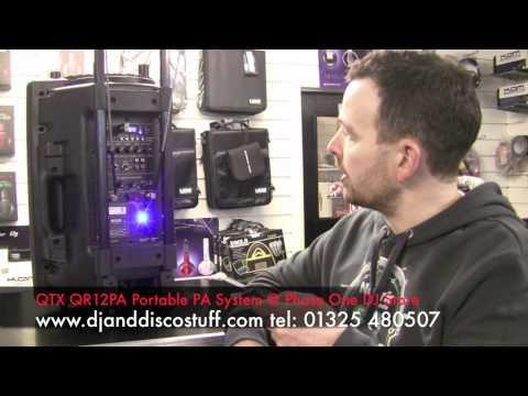 QTX QR12PA , Aerobic Battery Powered Portable PA