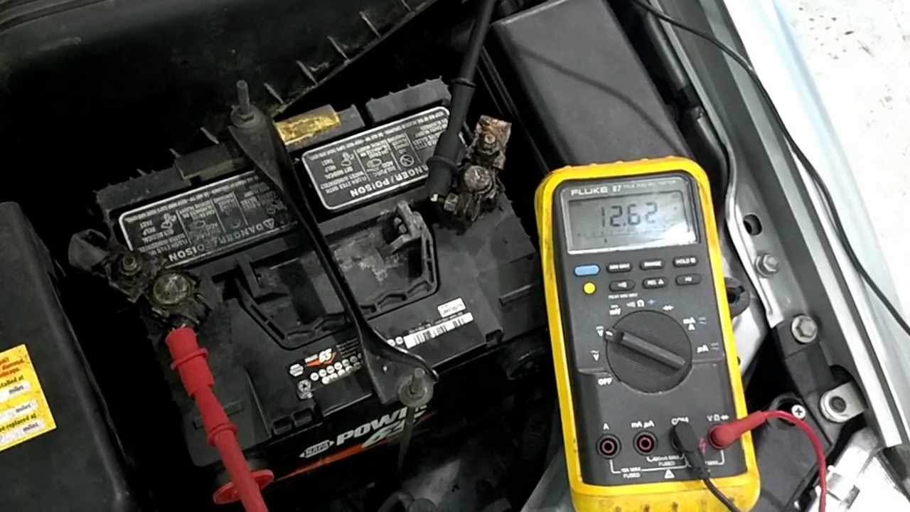 Testing My Car Battery With Multimeter