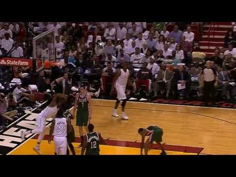 Dwyane Wade Drops the Hammer