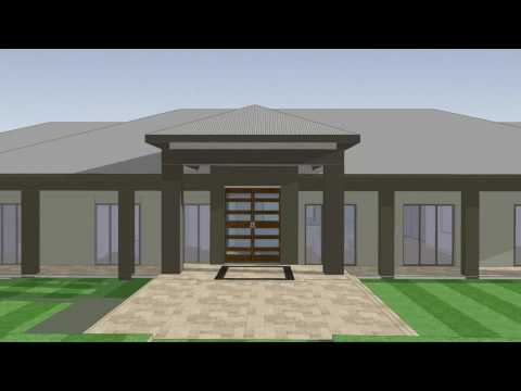 Large house animation