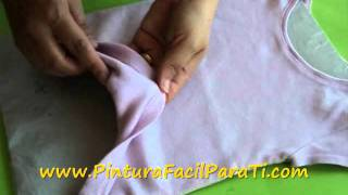 Como Pintar En Tela Trucos *Paint On Fabric* Como Pintar