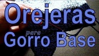 Como Tejerle Orejeras A Un Gorro (crochet Earflaps Hat