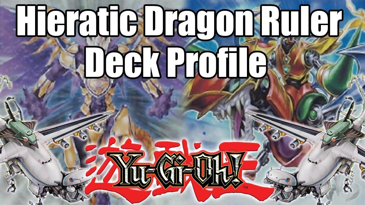 Dragon Ruler Deck 2015 Hieratic Dragon Ruler Deck