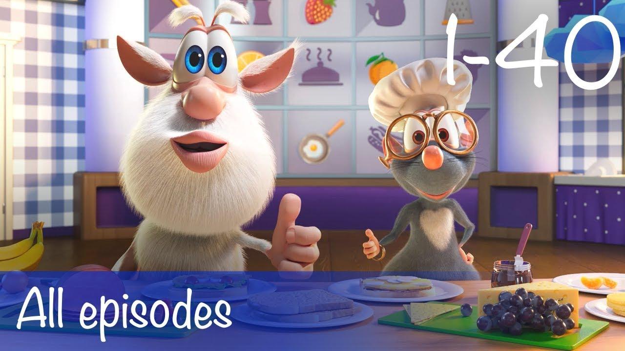 Booba compilation of all 40 episodes bonus cartoon for kids