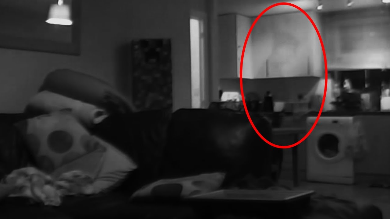 Unexplained Ghost Footage Best Evidence ★shadow Person